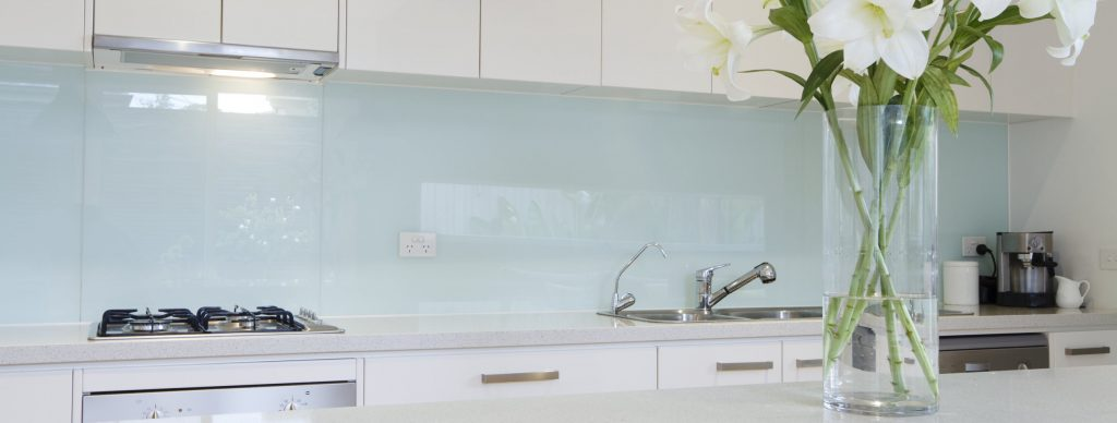 Glass splashback perth 2 - Credence cuisine a coller sur carrelage ...